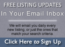 Real Estate Listing Update Sign-Up